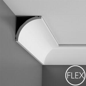 Ohybná stropná lišta Orac Decor C240F FLEX