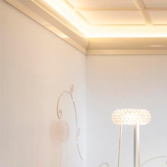 Stropná lišta pre LED osvetlenie Orac Decor C372 Pump