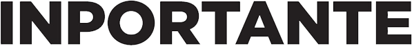 the logo of the company INPORTANTE which is selling decor products