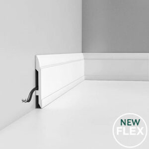Podlahová ohybná lišta Orac Decor SX104F FLEX