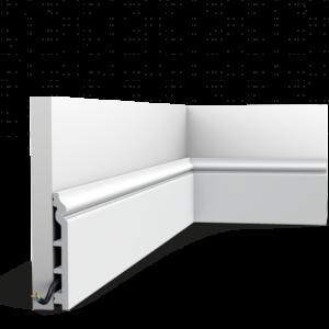 Podlahová lišta Orac Decor SX118-RAL9003