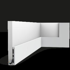 Multifunkčná lišta Orac Decor SX163-RAL9003 SQUARE