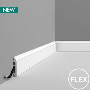 Podlahová ohybná lišta Orac Decor SX172F FLEX