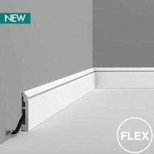 Podlahová ohybná lišta Orac Decor SX173F FLEX