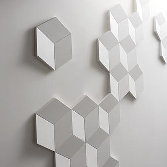 Dekoračný 3D panel Orac Decor W100 - Rombus