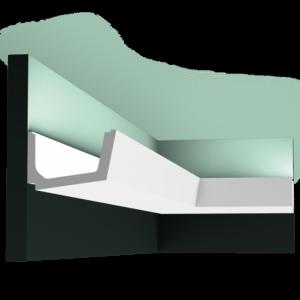 Stropná lišta pre LED osvetlenie Orac Decor C357 Straight