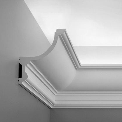 Ohybná stropná lišta pre LED osvetlenie Orac Decor C901F FLEX