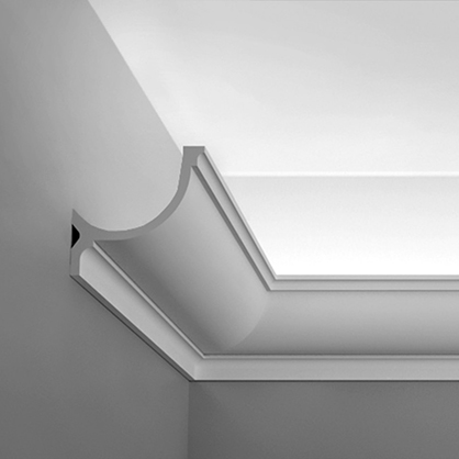 Ohybná stropná lišta pre LED osvetlenie Orac Decor C902F FLEX