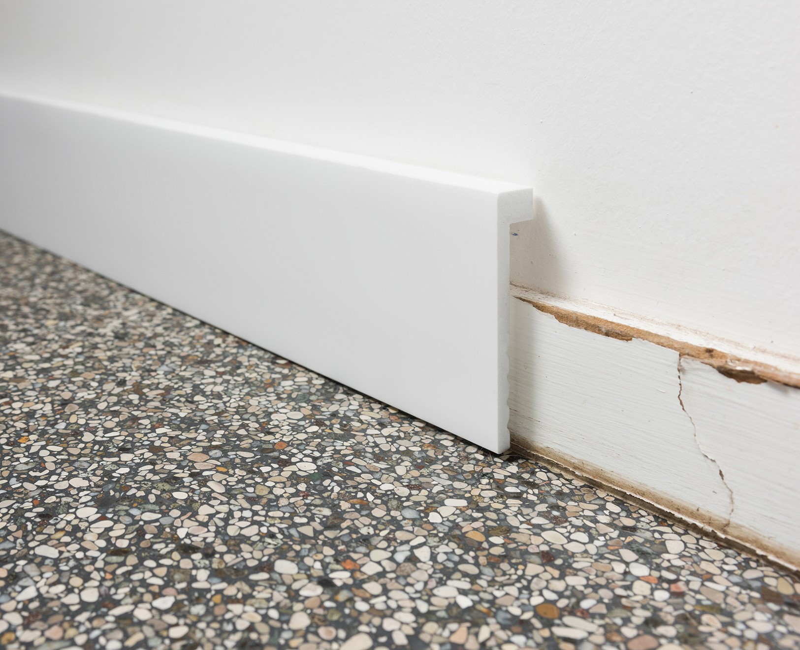 Pevné podlahové lišty
