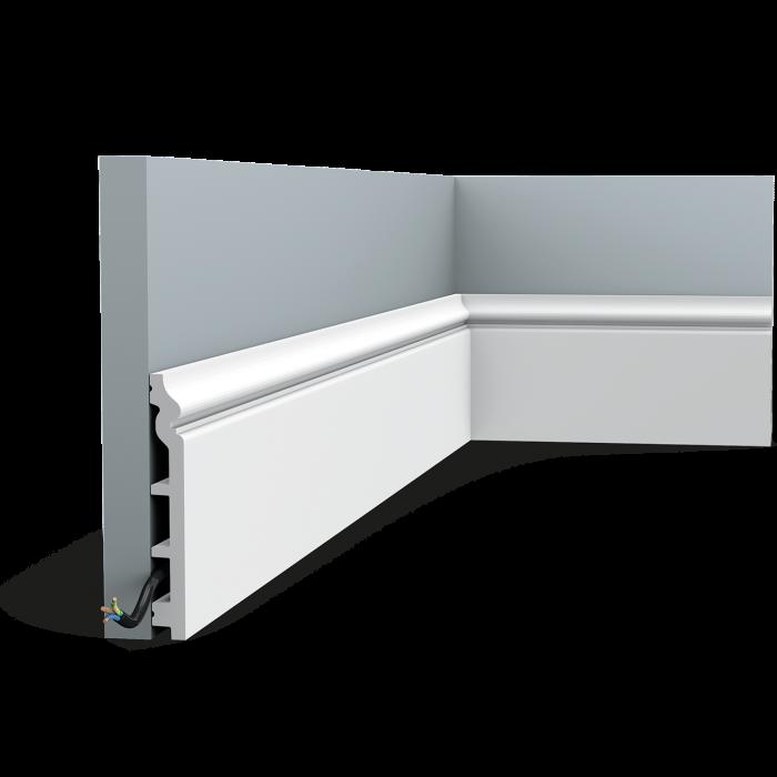 Podlahová ohybná lišta Orac Decor SX118F FLEX