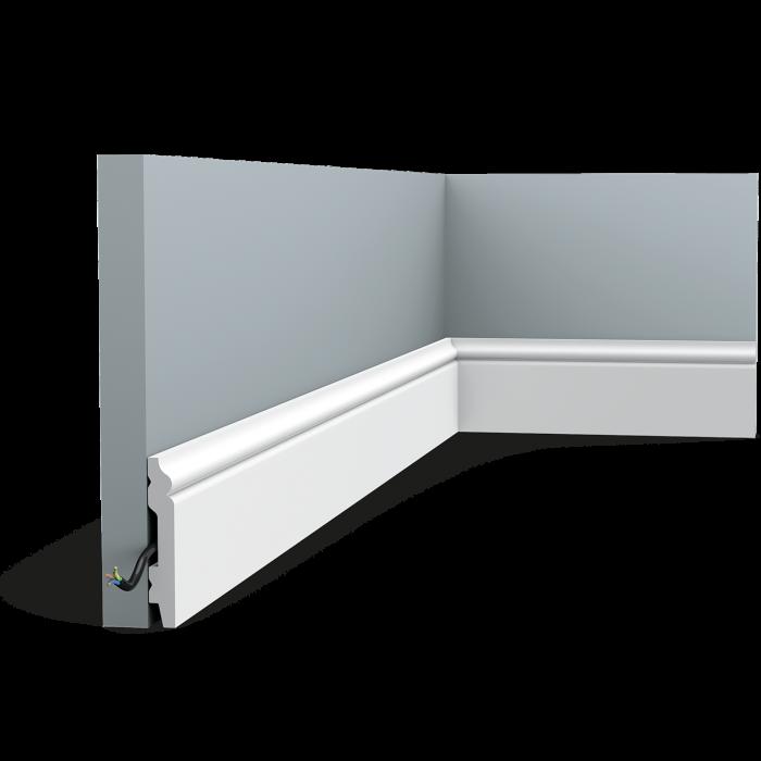 Podlahová ohybná lišta Orac Decor SX165F FLEX HIGH HEELS